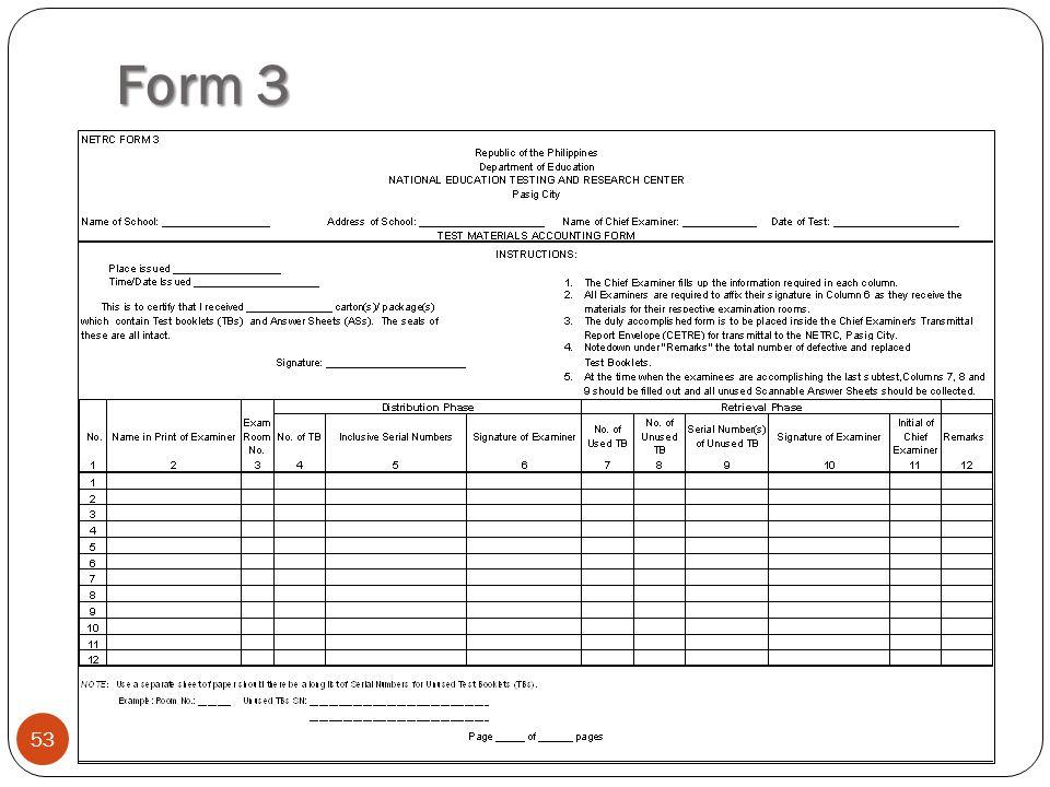 Form 3 53