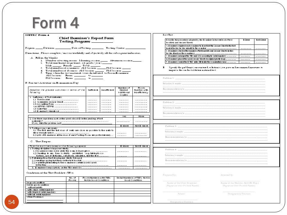 Form 4 54