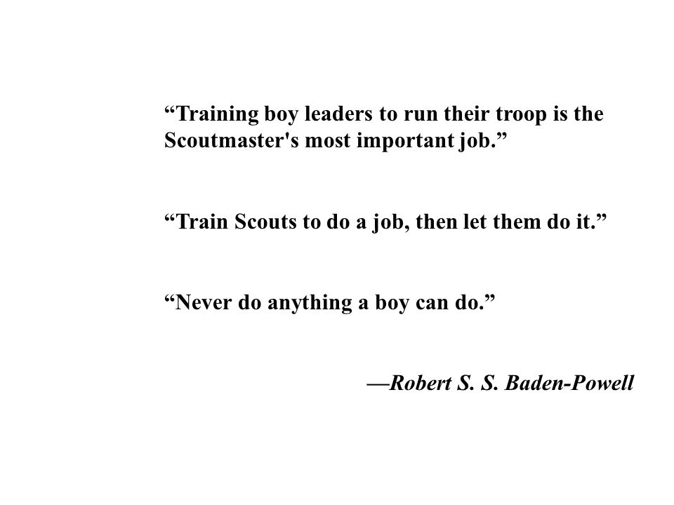 The Scout Oath...and morally straight.