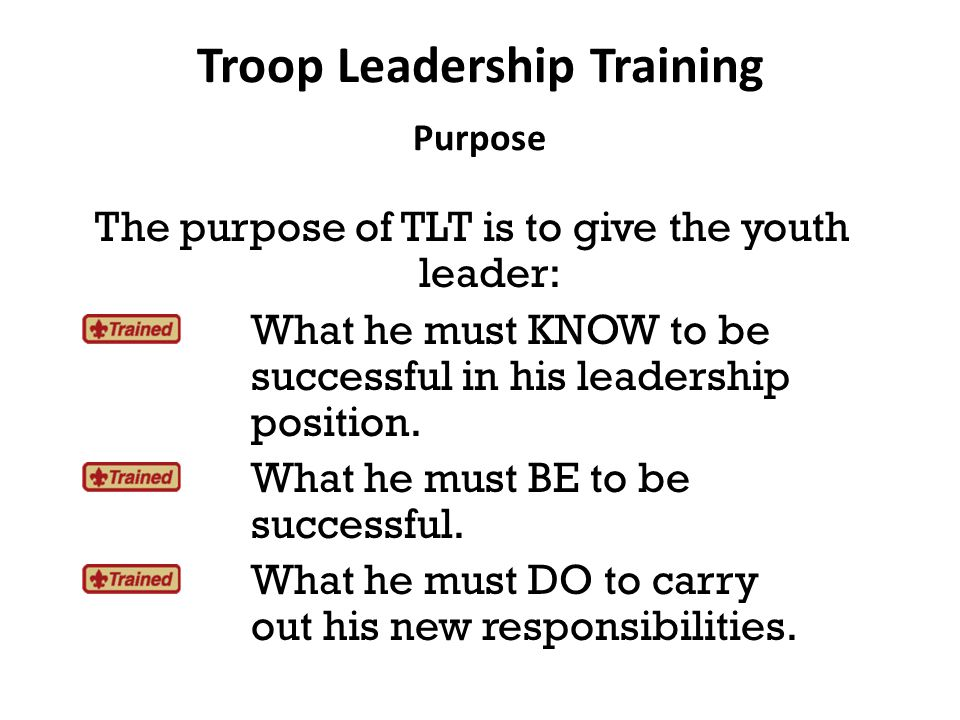 The Boy-Led Patrol How a Patrol Succeeds Patrol identity (flags, yells, songs) Cooperation from all members Participation from all members Regular patrol meetings Inter-patrol activities and rivalries Module I