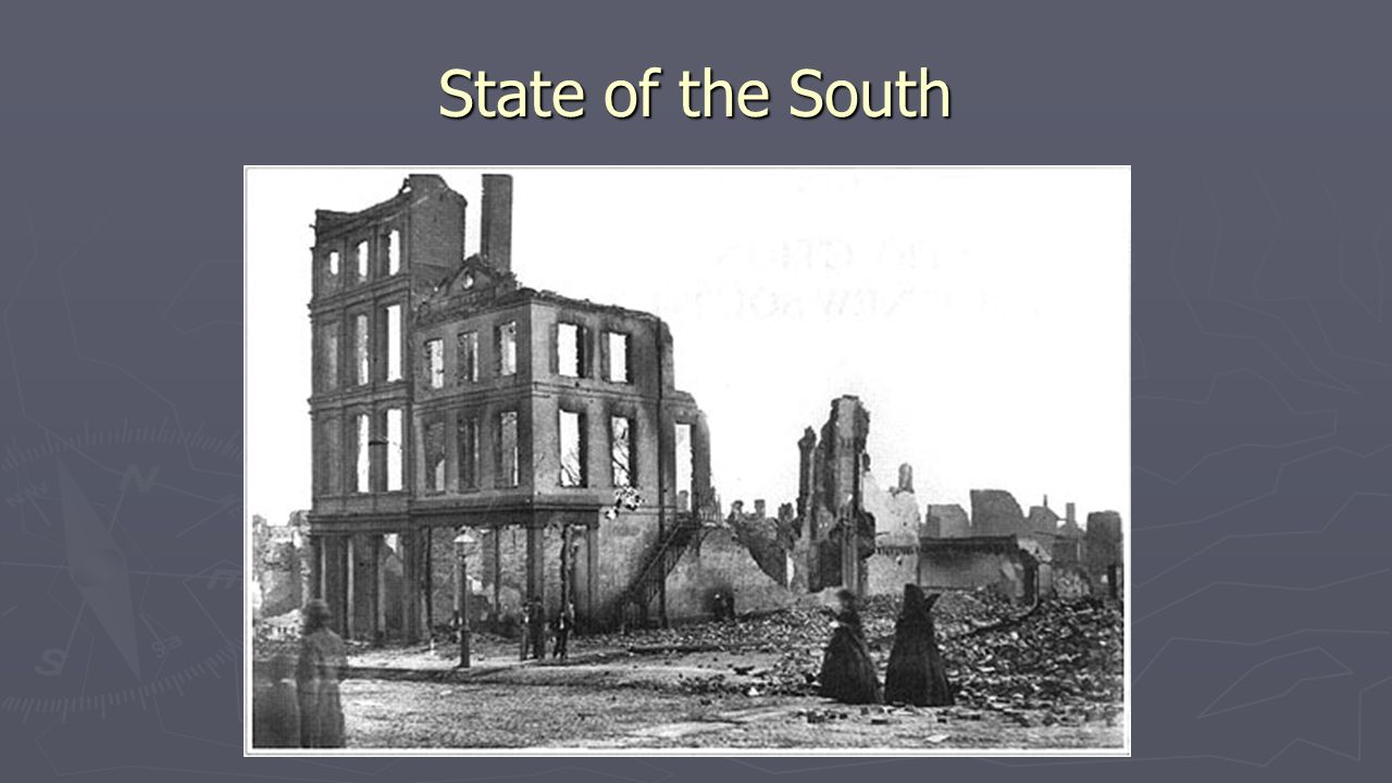 The whole fabric of southern society must be changed…If the South is ever to be made a safe Republic let her hands be cultivated by the toil of the owners, or the free labor of intelligent citizens. -Thaddeus Stevens, -Thaddeus Stevens, The Era of Reconstruction