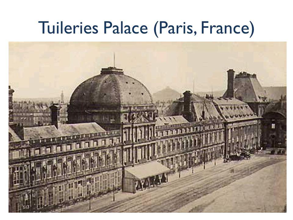 Tuileries Palace (Paris, France)