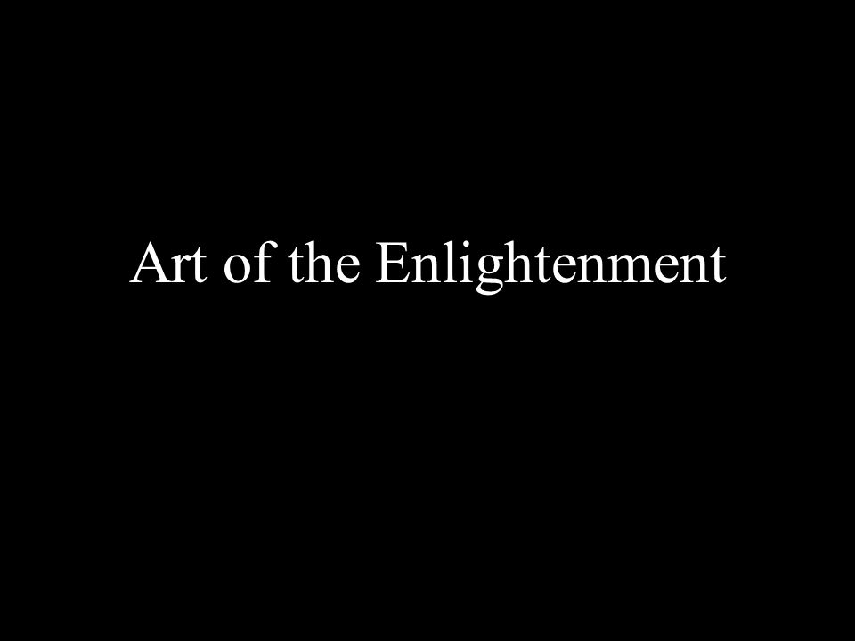 Art of the Enlightenment