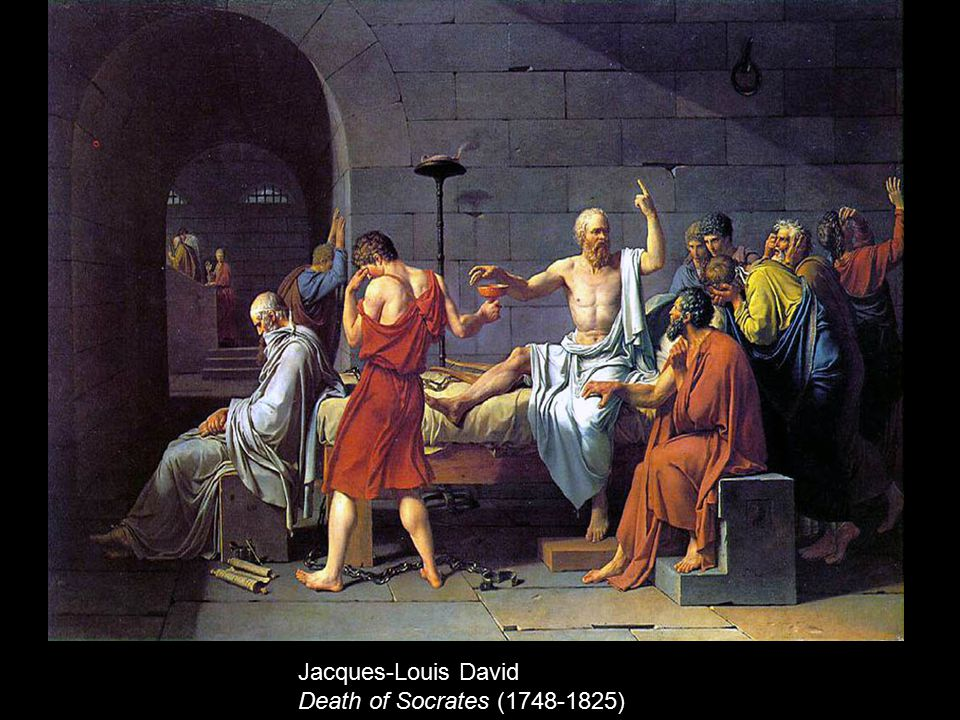 Jacques-Louis David Death of Socrates (1748-1825)