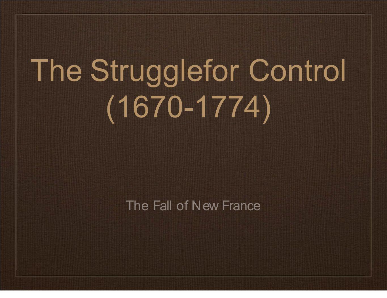 Seven Years' War Begins 1756- 1763