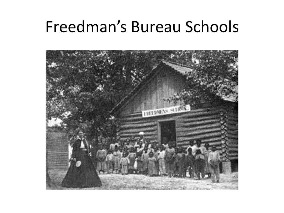 Freedman's Bureau Schools