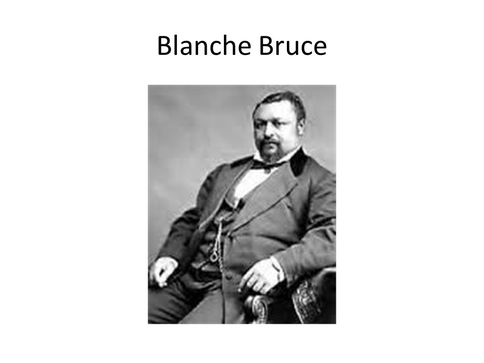 Blanche Bruce