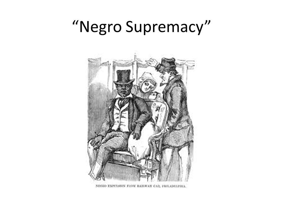 Negro Supremacy