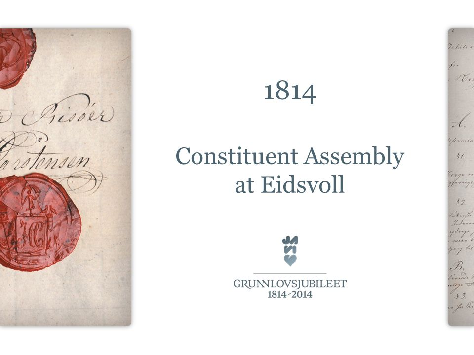 1814 Constituent Assembly at Eidsvoll