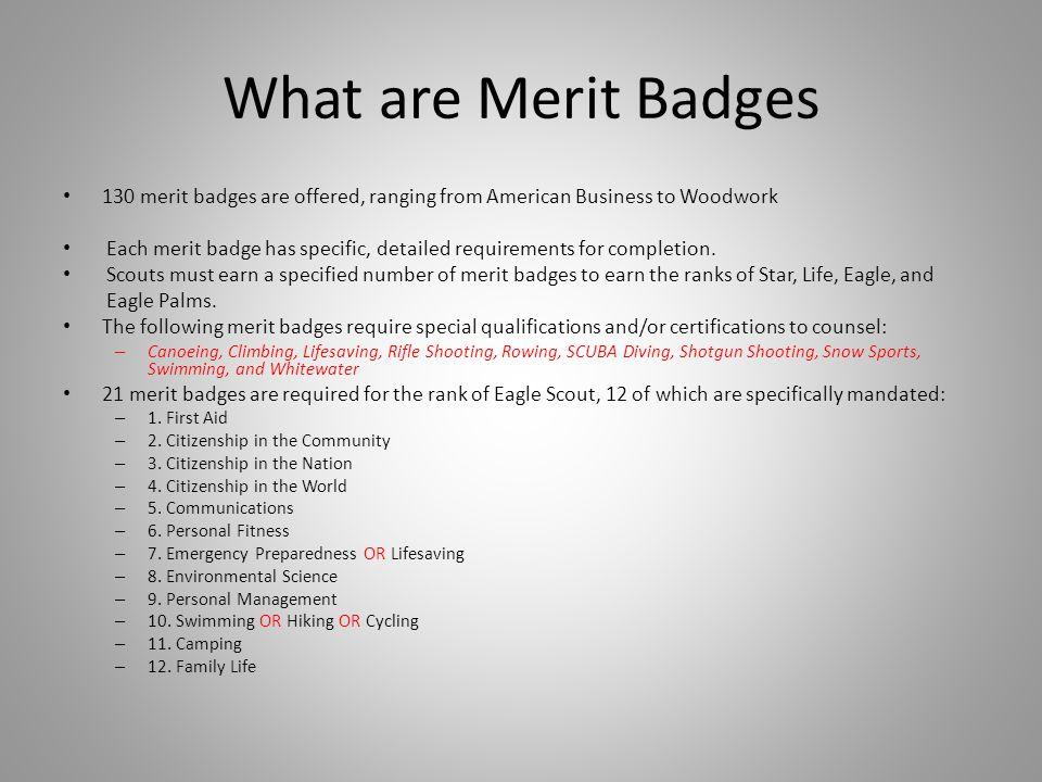 Partial Blue Card 1a 6-9 HP 1b 6-9 HP 1c 1d 7-18 HP 2 6-9 HP 3 7-18 HP 4a 4b 7-18 HP Summer Camps, Merit Badge events, Camporees...