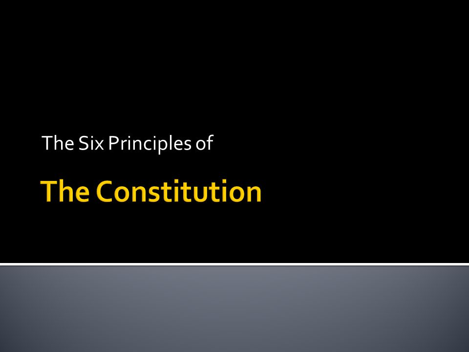  On your foldable or paper, copy the outline of the constitution filling in the blanks and underlining the words you fill in.
