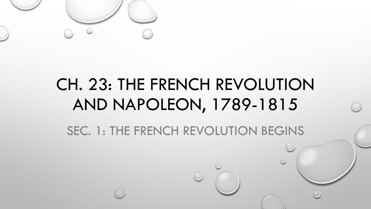 NATIONALISM This increased in post French Revolution Europe.