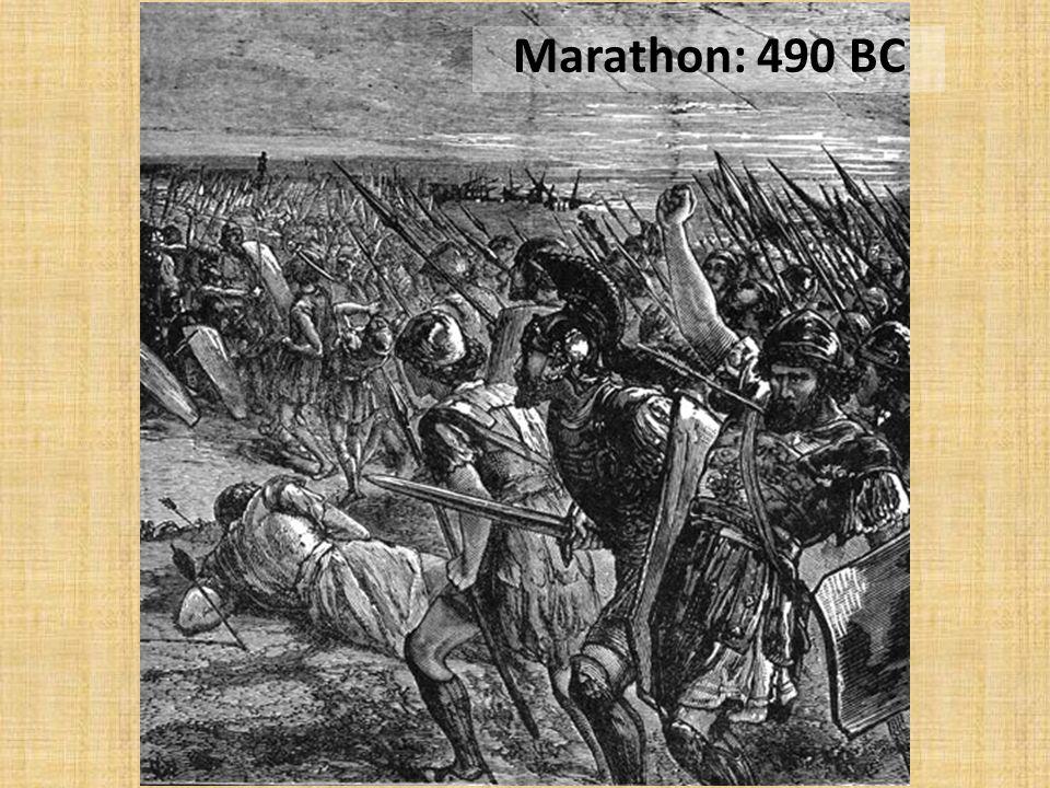 Marathon: 490 BC
