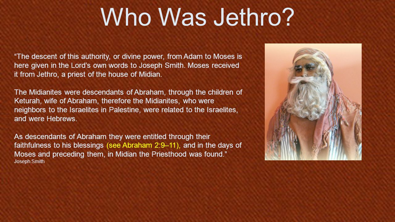 Who Was Jethro.