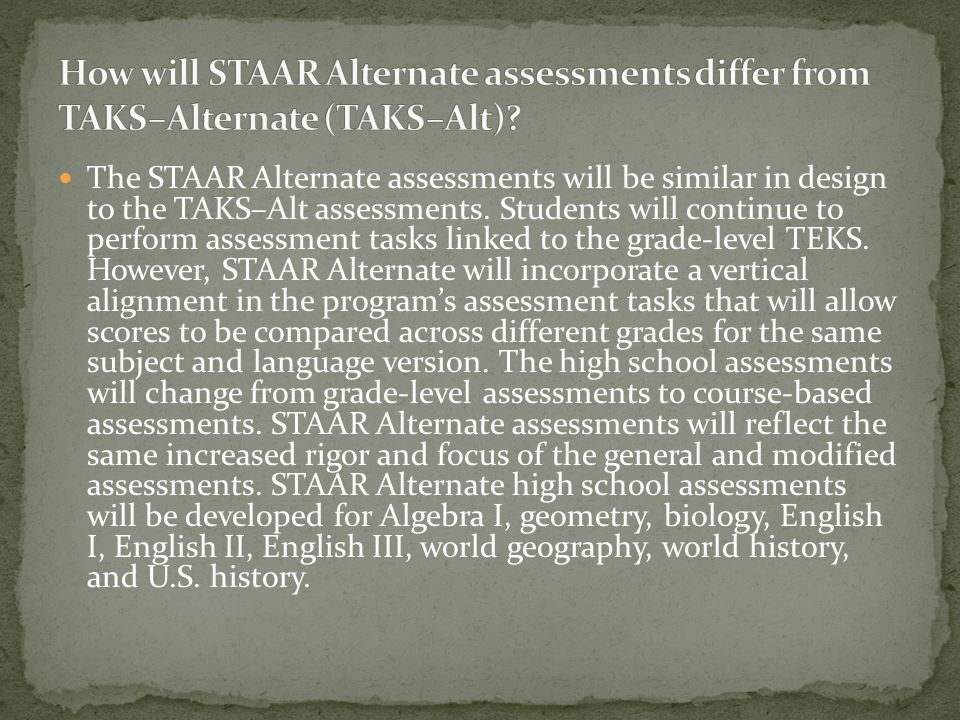 Yes. A student can take any combination of STAAR and STAAR Modified assessments with the exception of the two components of the STAAR English I, II, a