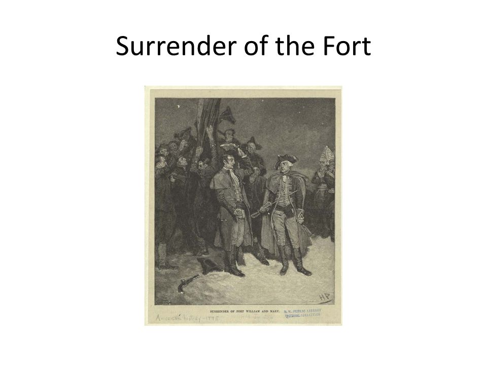 Surrender of the Fort