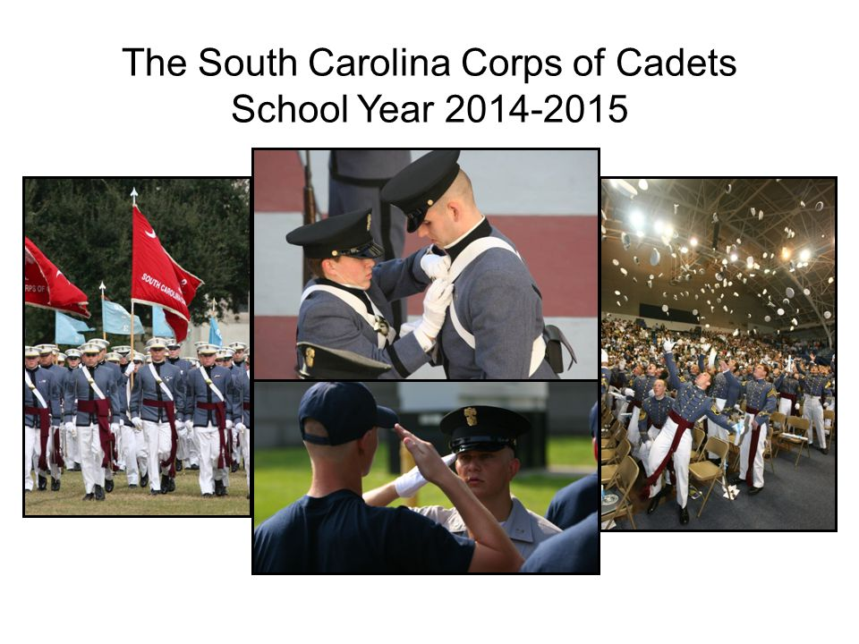 The South Carolina Corps of Cadets School Year 2014-2015