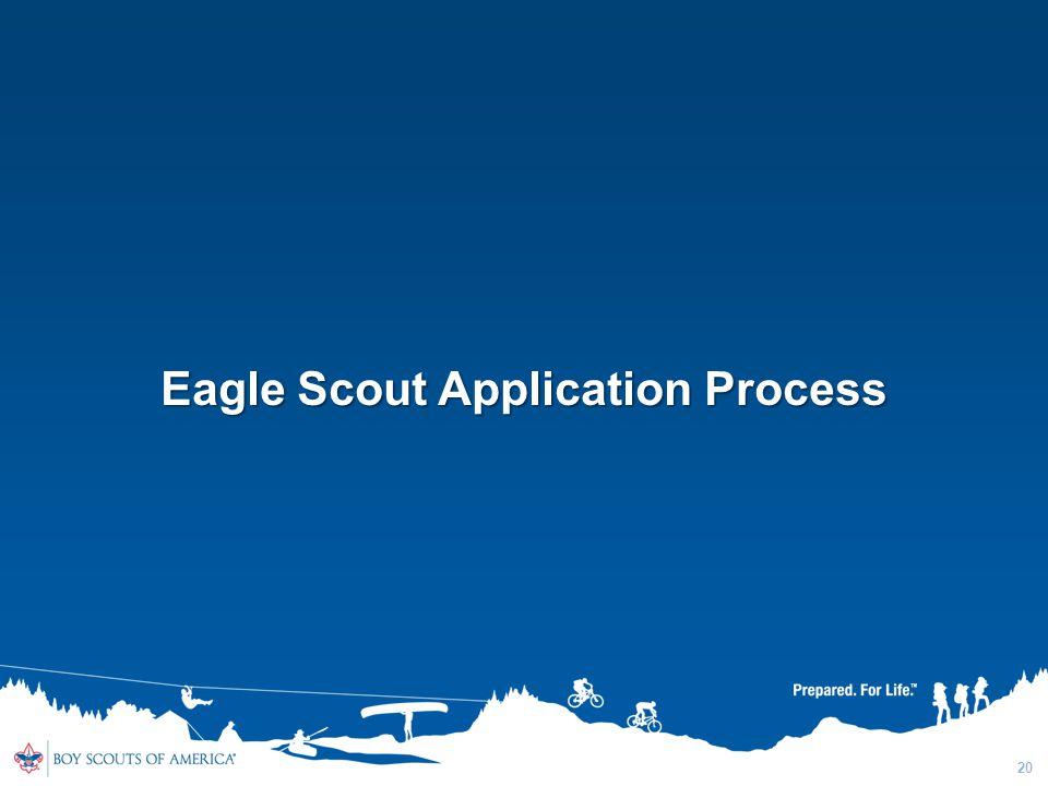 20 Eagle Scout Application Process