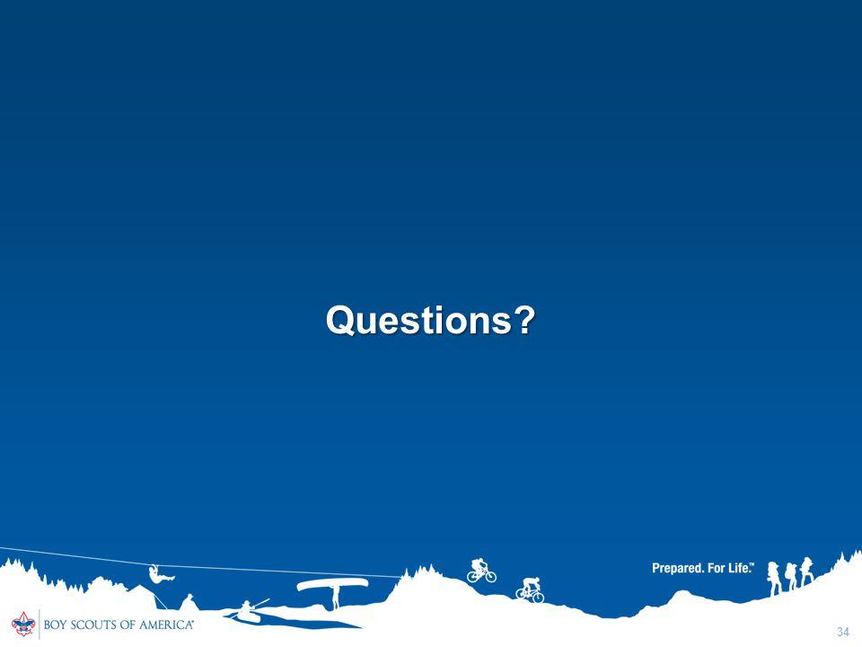34 Questions?
