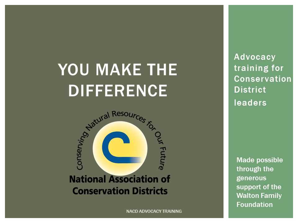 Now it's your turn… Write your own elevator speech NACD ADVOCACY TRAINING WHAT IS LEADERSHIP?