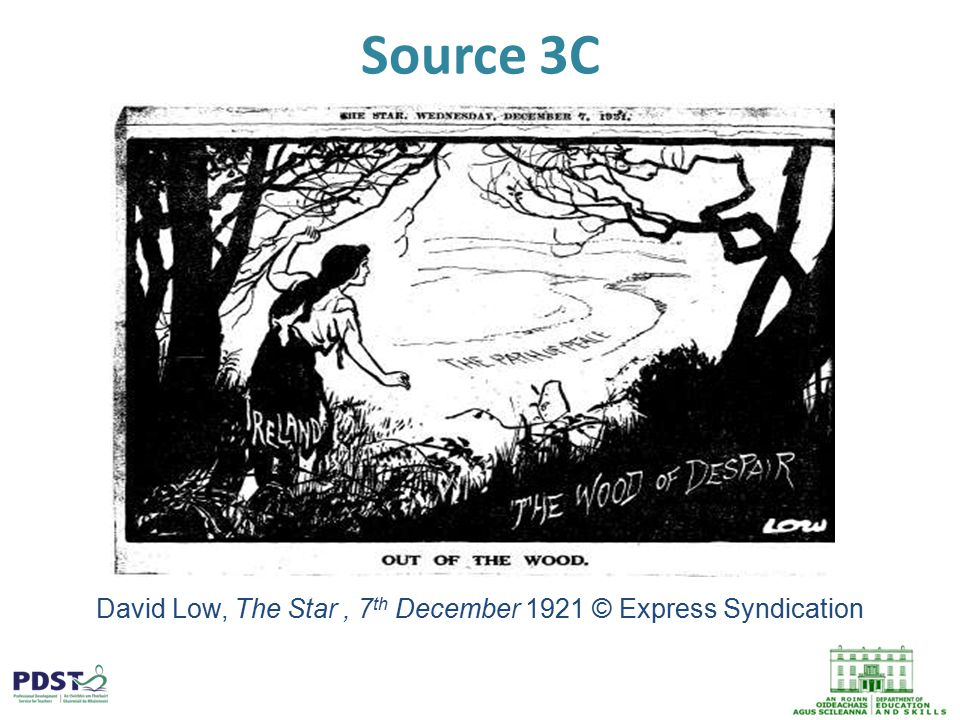Source 3C David Low, The Star, 7 th December 1921 © Express Syndication