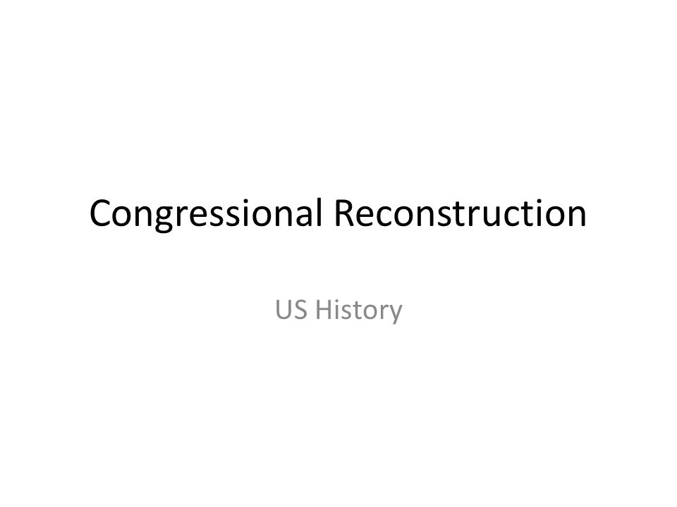 Objectives B3d -Evaluate different Reconstruction plans and their social, economic, and political impact on the South and the rest of the United States  B3e- Analyze the immediate and long-term influences of Reconstruction on the lives of African Americans and U.S.