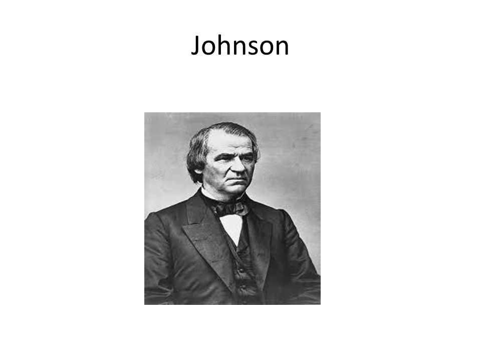 II.Problems with Johnson D.