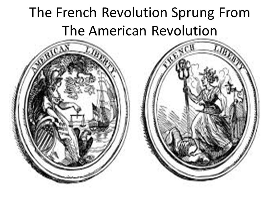 The French Revolution Sprung From The American Revolution
