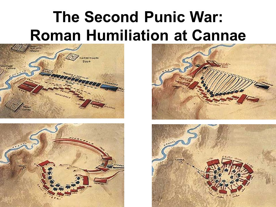 The Second Punic War: Roman Humiliation at Cannae