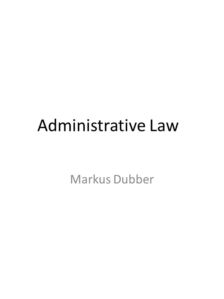 2.Administrative law/administration vs.