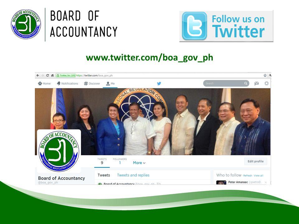 www.twitter.com/boa_gov_ph