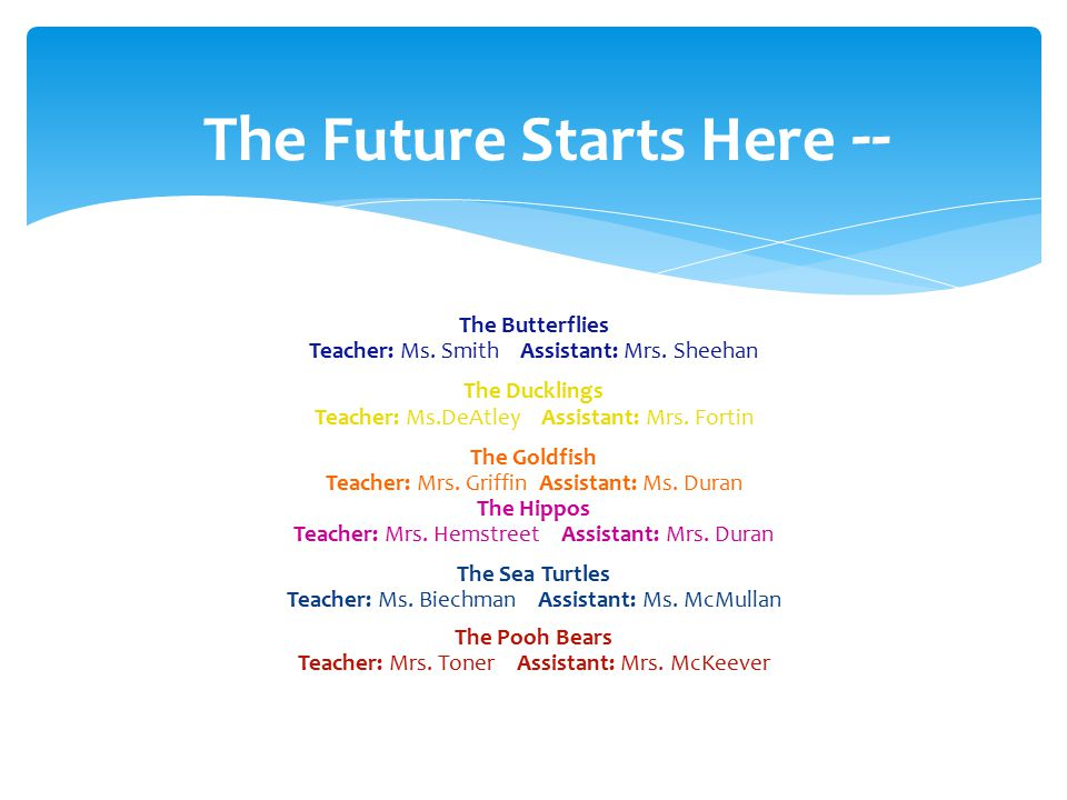 Statement of Objectives  Prepare students for an ever-changing technological world.