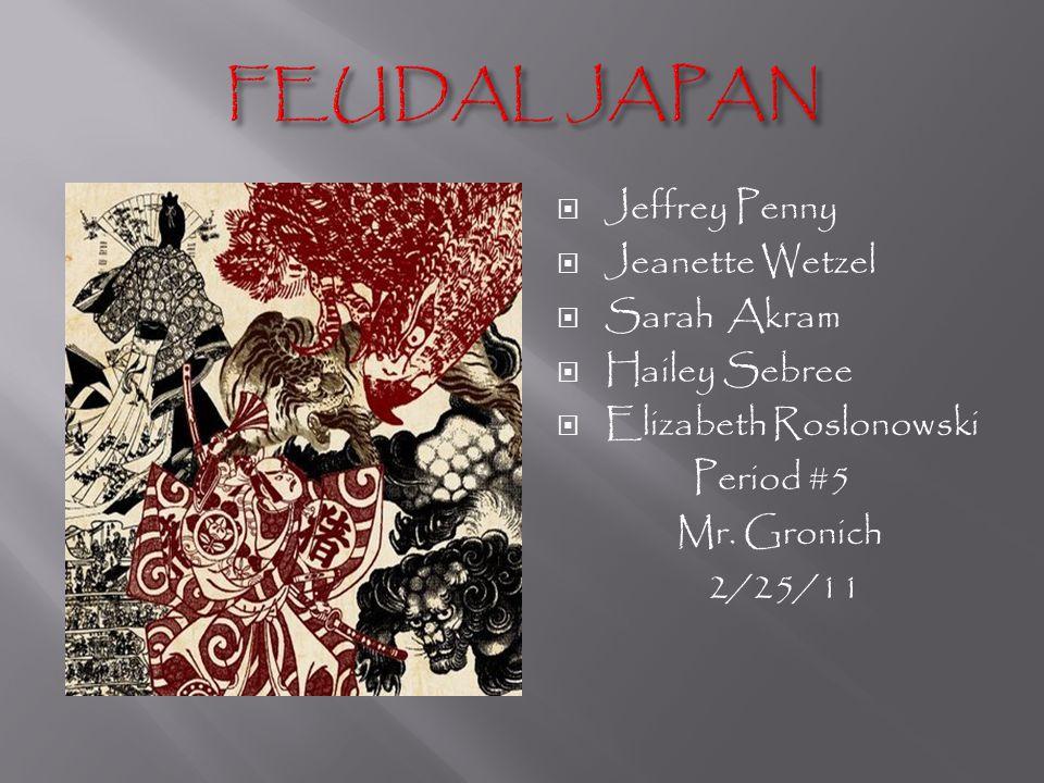  Jeffrey Penny  Jeanette Wetzel  Sarah Akram  Hailey Sebree  Elizabeth Roslonowski Period #5 Mr.