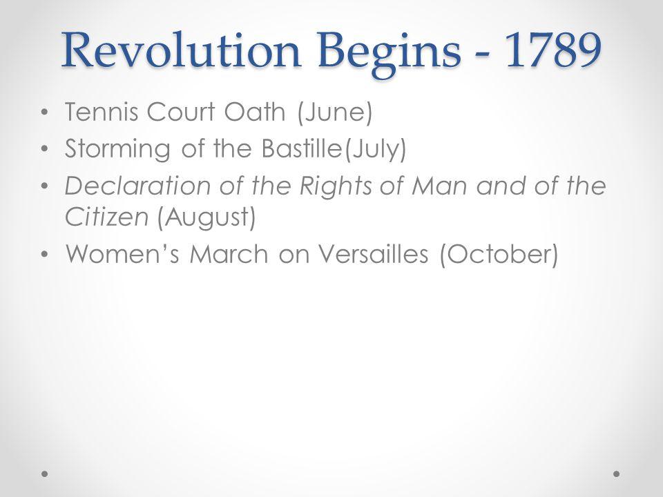 Tennis Court Oath - June