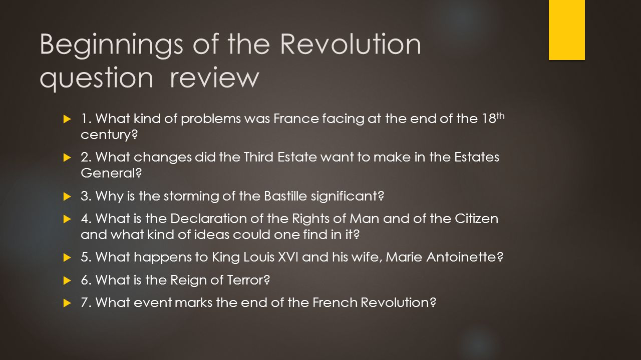 Beginnings of a Revolution SOCIAL CLASSES, DISCONTENT, AND UPRISING