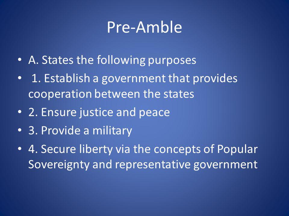 Article II Executive Department A.Executive Power 1.