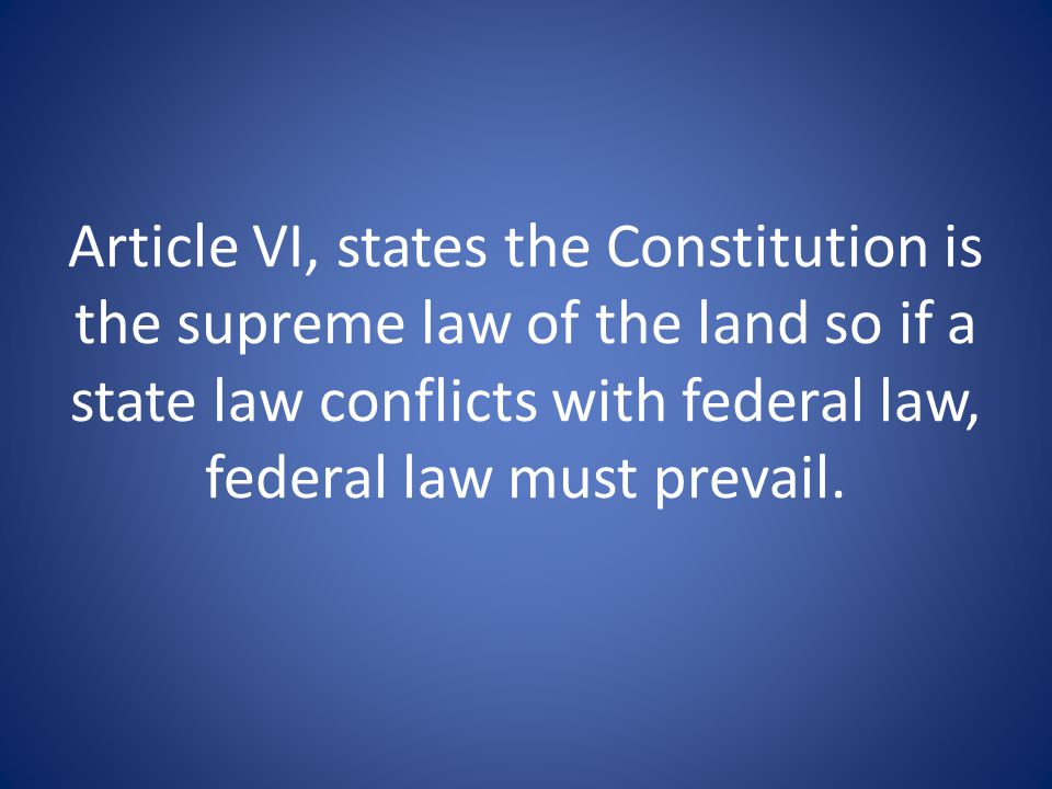 Does the Constitution give the Supreme Court the right to declare acts of Congress unconstitutional?