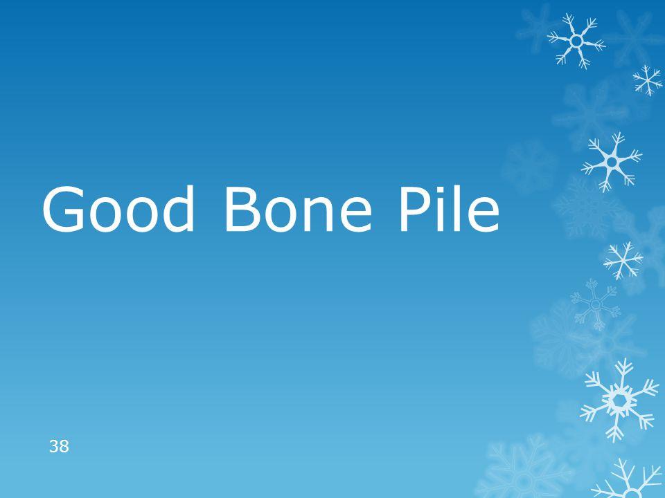 Good Bone Pile 38