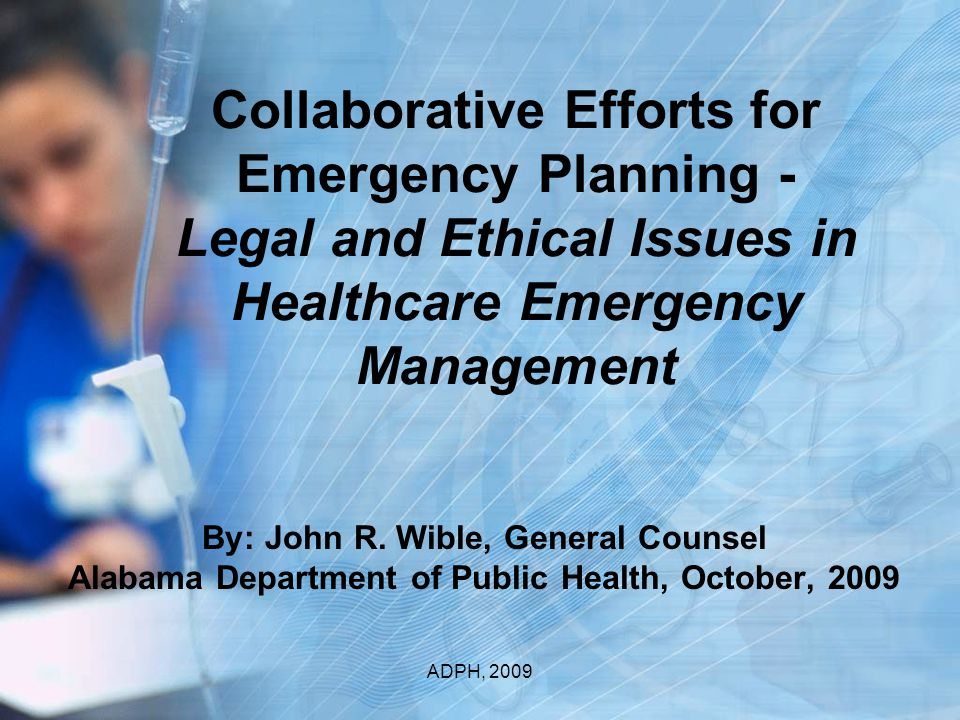 Ethical Questions Presented What are the Ethical and Legal issues in strategically falling back in provision of health care services.
