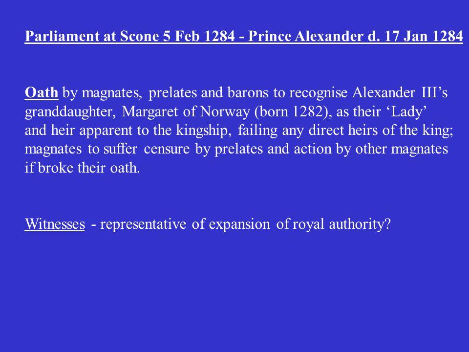 The Tragic heirs of Alexander III. Alexander III = 1.