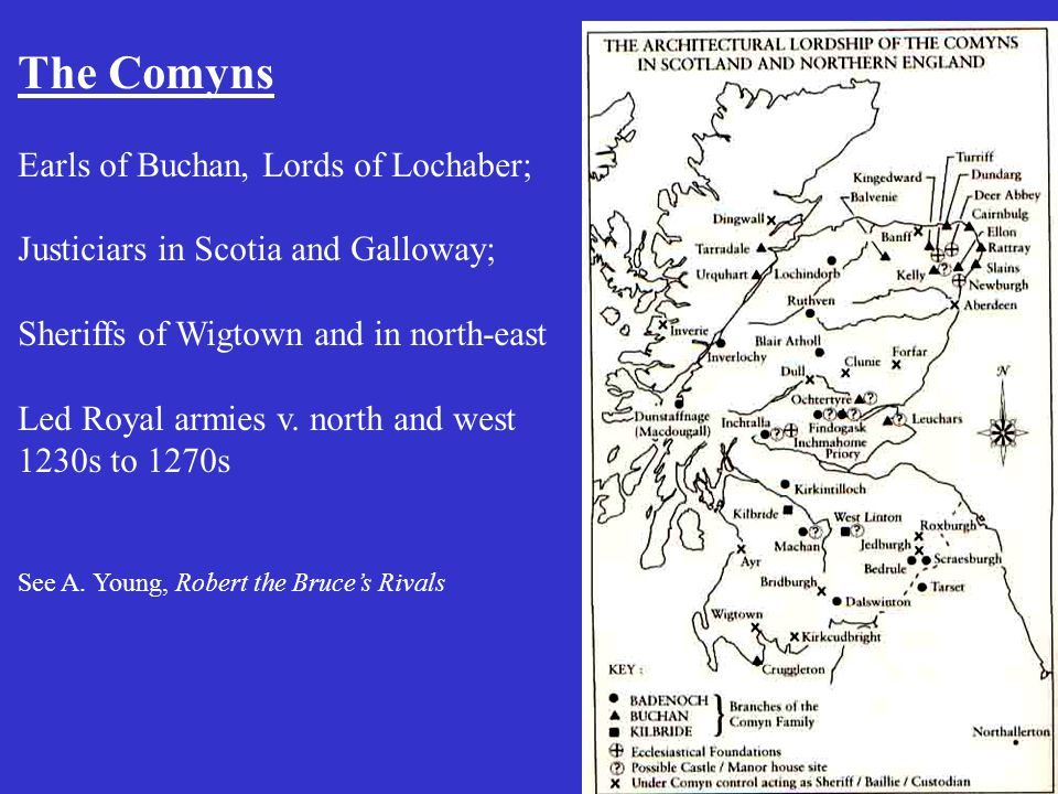 Scottish incursion in the West I.