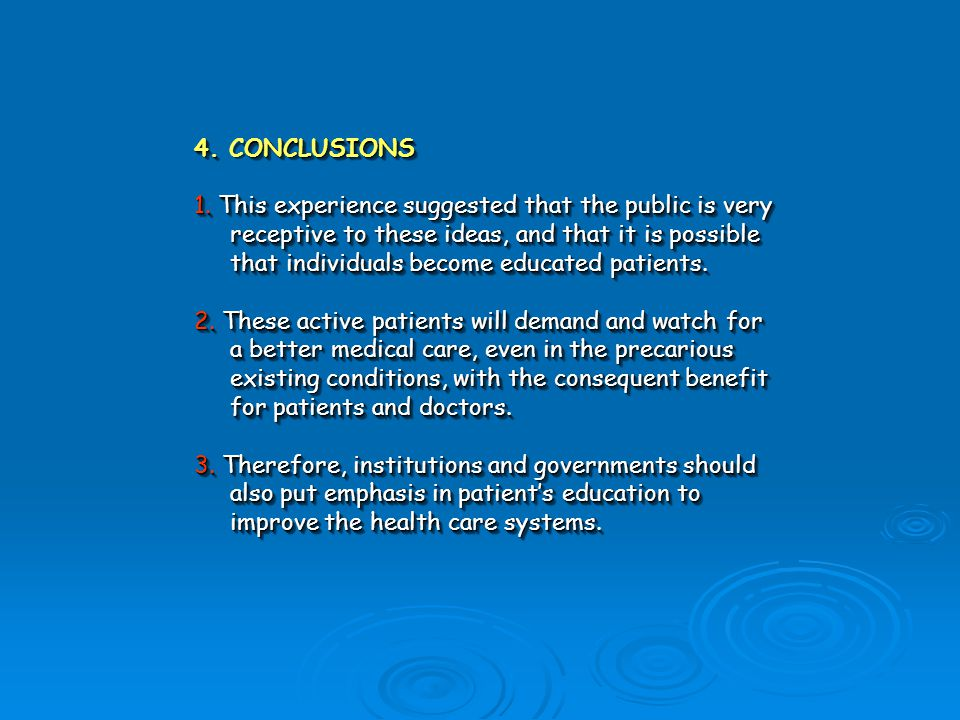4.ONCLUSIONS 4.CONCLUSIONS 1.
