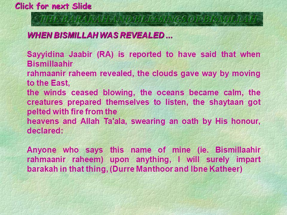 THE STORY OF SAYYIDINA KHAALID (RA) On one occasion Sayyidina Khaalid (RA) surrounded the enemy.
