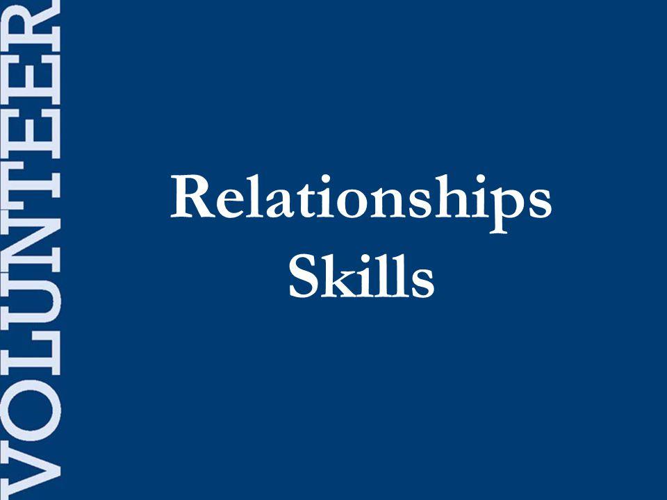 Relationships Skills
