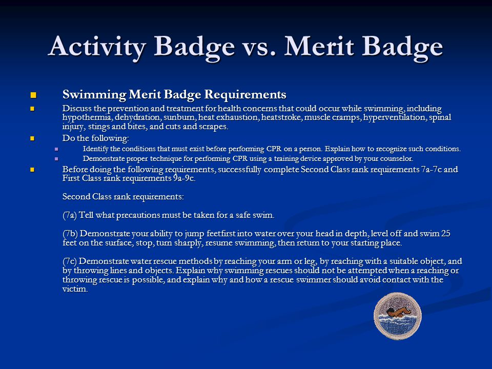 Activity Badge vs.
