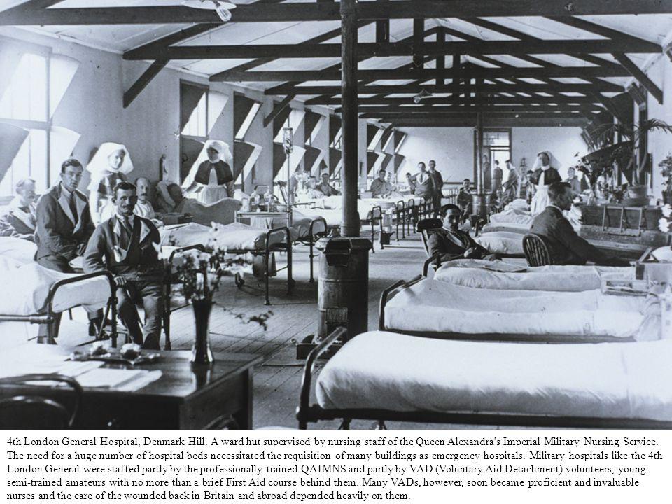 4th London General Hospital, Denmark Hill.