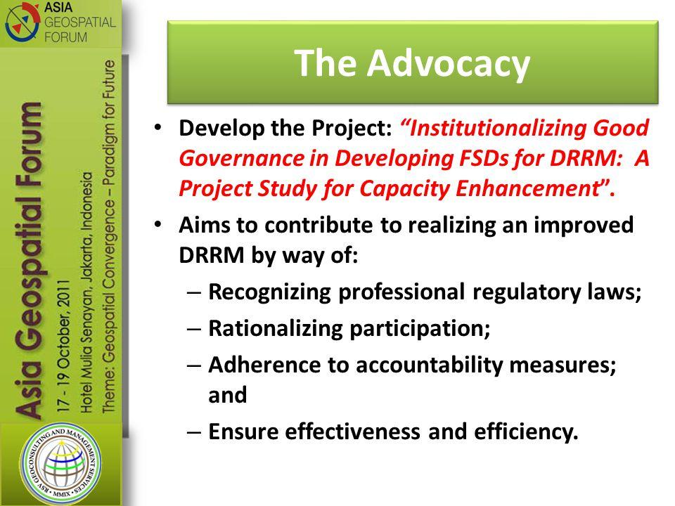 The Advocacy