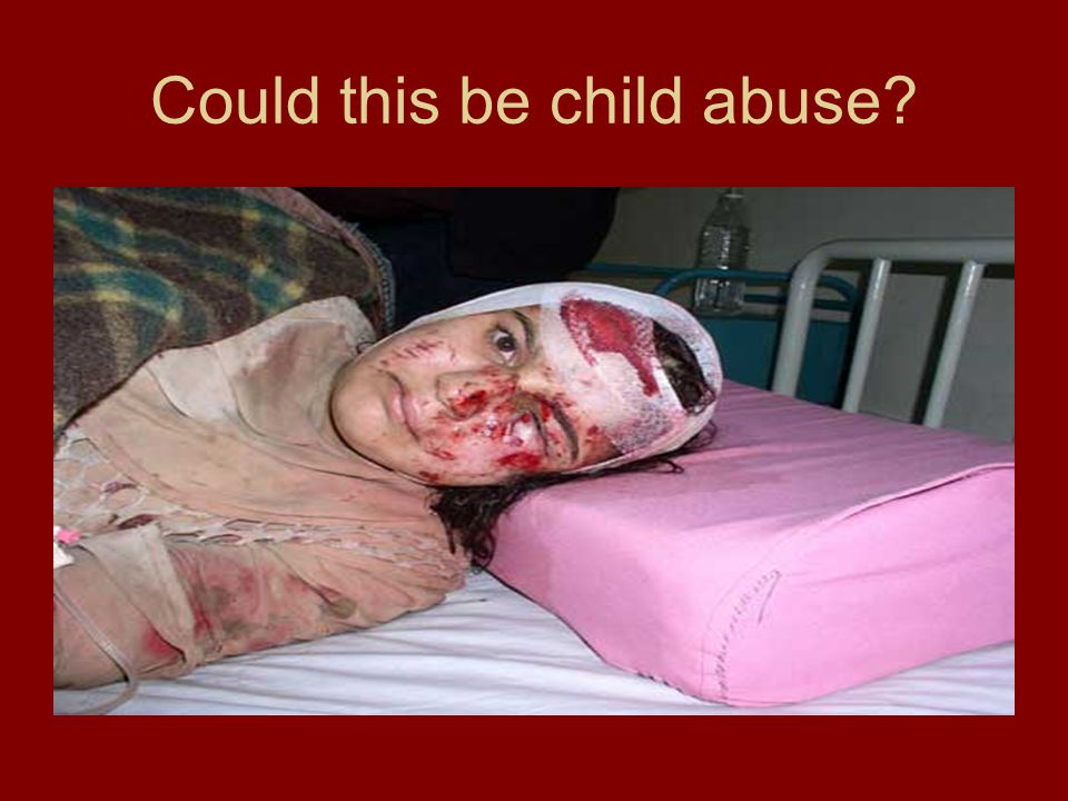 Could this be child abuse?