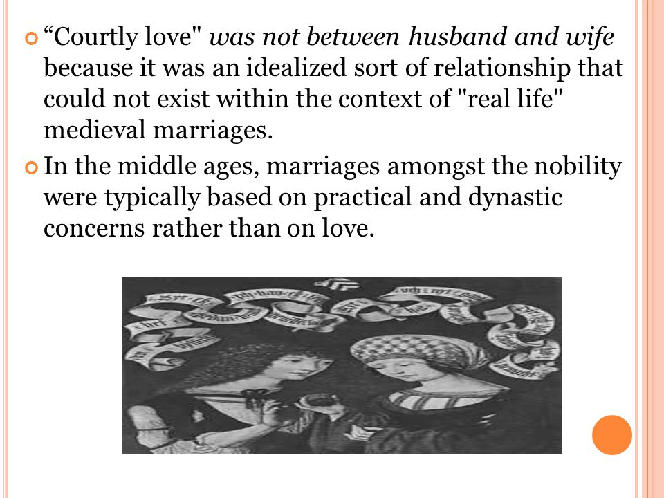 """""""Courtly love"""