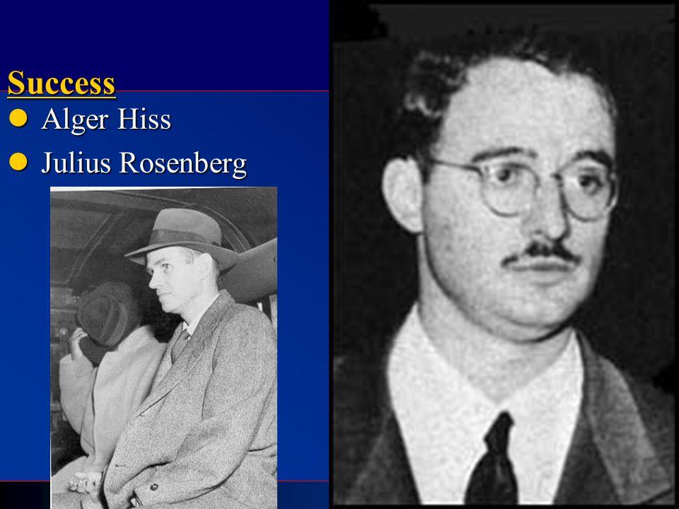 C ALL TO F REEDOM HOLT HOLT, RINEHART AND WINSTON 1865 to the PresentSuccess Alger Hiss Alger Hiss Julius Rosenberg Julius Rosenberg